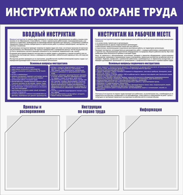 Инструктаж по охране труда картинки в высоком разрешении